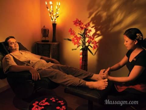 Эротический массаж ног мужчине