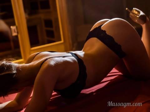 Эротический массаж в Москве от индивидуалки