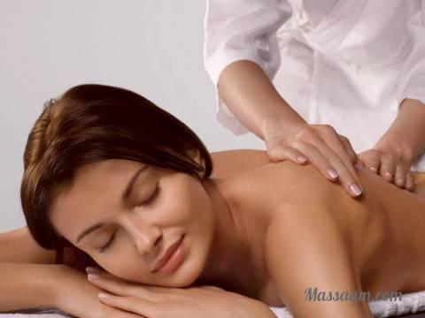Медицинский массаж спины