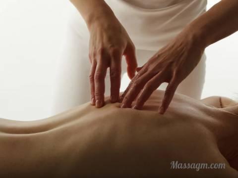 Оказание услуг массажа