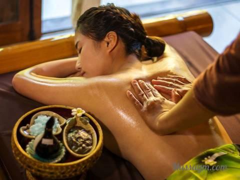 Тайский массаж маслом всего тела